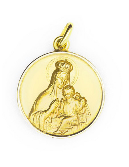 Medalla Virgen con niño -...