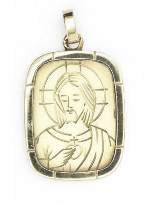 Medalla Oro.Sagrado Corazón