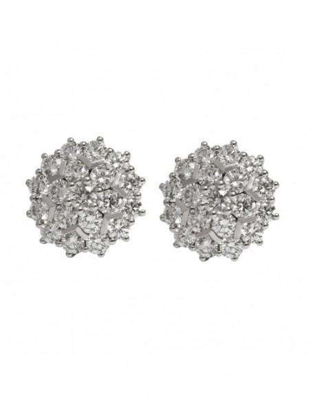 Rosetón de diamantes con...