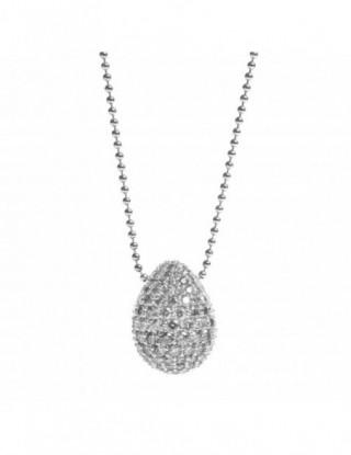 Faberge cadena plata con...