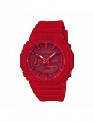 G-SHOCK rojo GA-2100-4AER -...