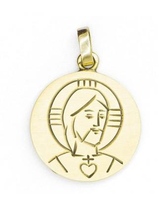 Medalla grabada oro ley...