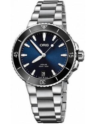 Oris Aquis Date 36.5 azul -...